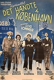 Det hændte i København Poster