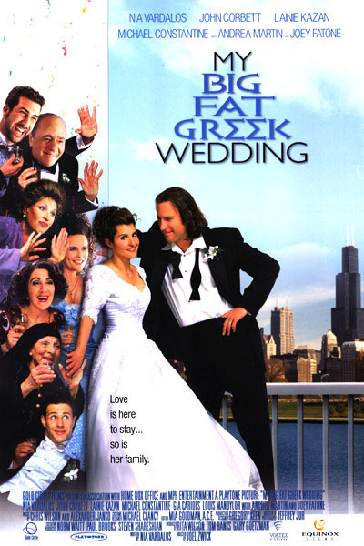 My Big Fat Greek Wedding (2002) BluRay 480p, 720p & 1080p