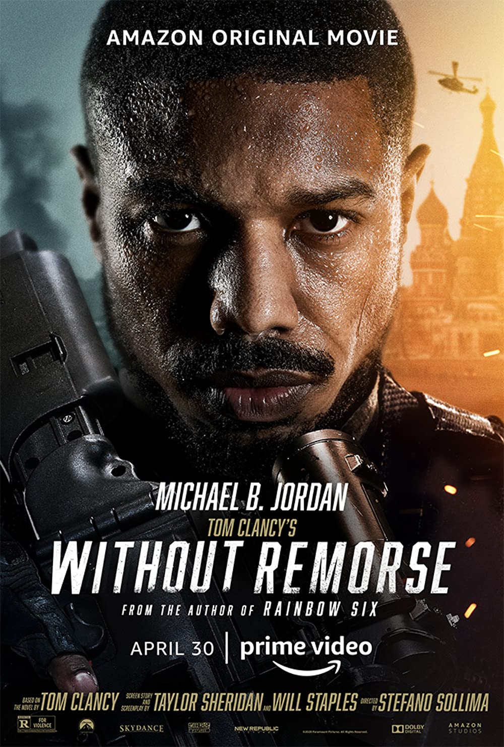 Tom Clancy's Without Remorse (2021) Hindi Dubbed [Fan Dub] HDRip x264 AAC 300MB Download