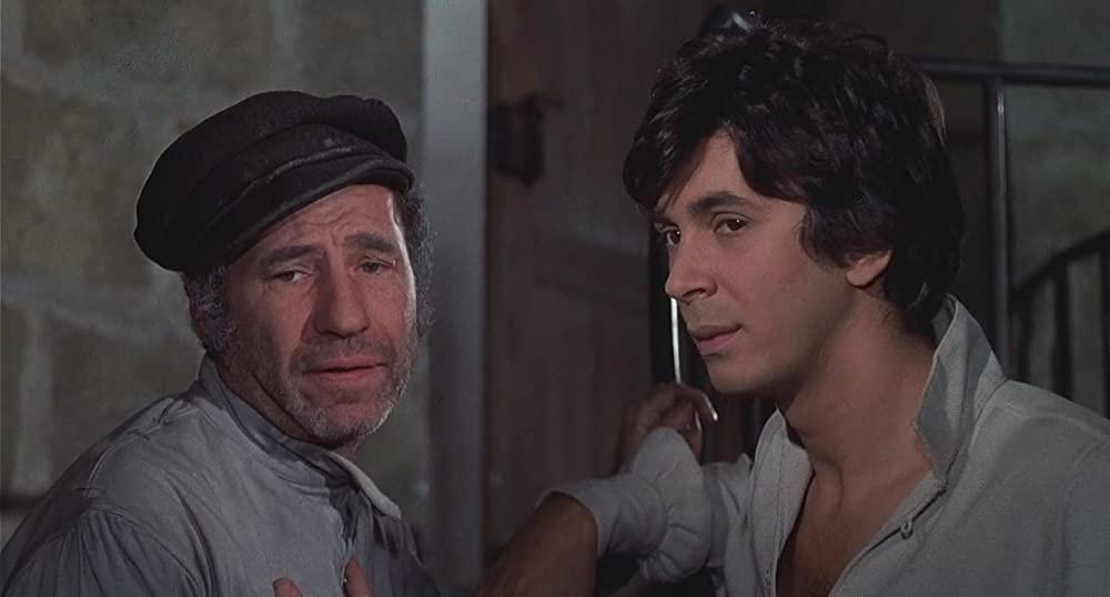 Mel Brooks and Frank Langella in The Twelve Chairs (1970)