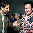 Screening of STRENGTH AND HONOUR ,directed by Mark Mahon, at the New York International Independent Film and Video Festival 2008(in NYC) left to right: Claude Laniado, Michael Madsen