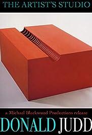 The Artist's Studio: Donald Judd Poster