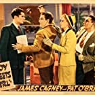 James Cagney, Pat O'Brien, Bruce Lester, and Marie Wilson in Boy Meets Girl (1938)