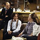Robin Williams, Pam Dawber, Conrad Janis, and Elizabeth Kerr in Mork & Mindy (1978)
