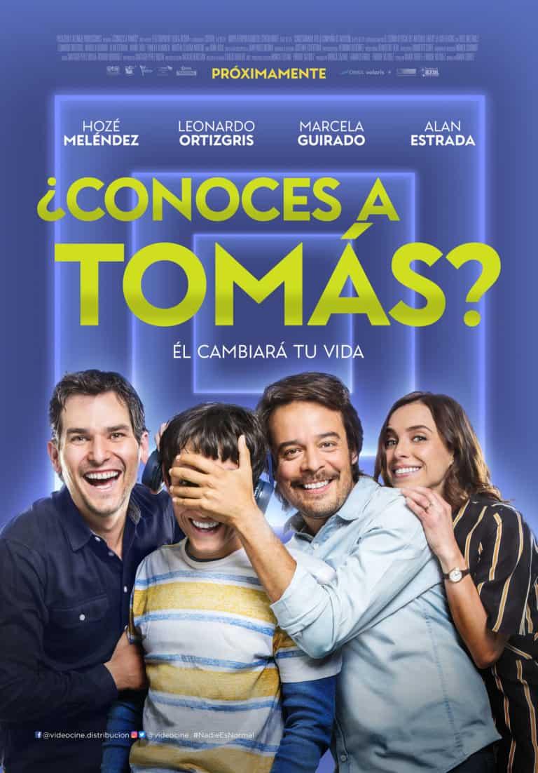 Marcela Guirado, Leonardo Ortizgris, Alan Estrada, and Hoze Meléndez in ¿Conoces a Tomás? (2019)