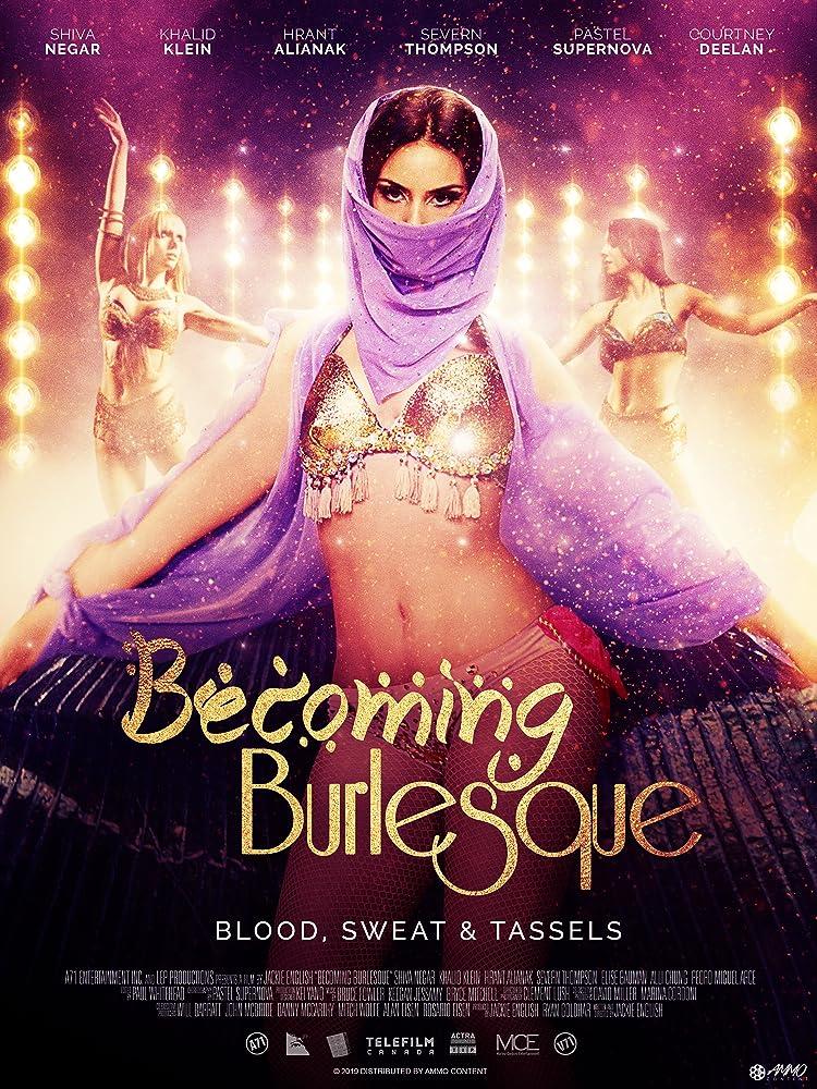 18+ Becoming Burlesque (2019) English Movie 480p HDRip 300MB ESubs