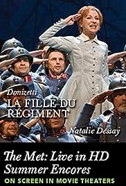 Donizetti: La Fille du Régiment Poster