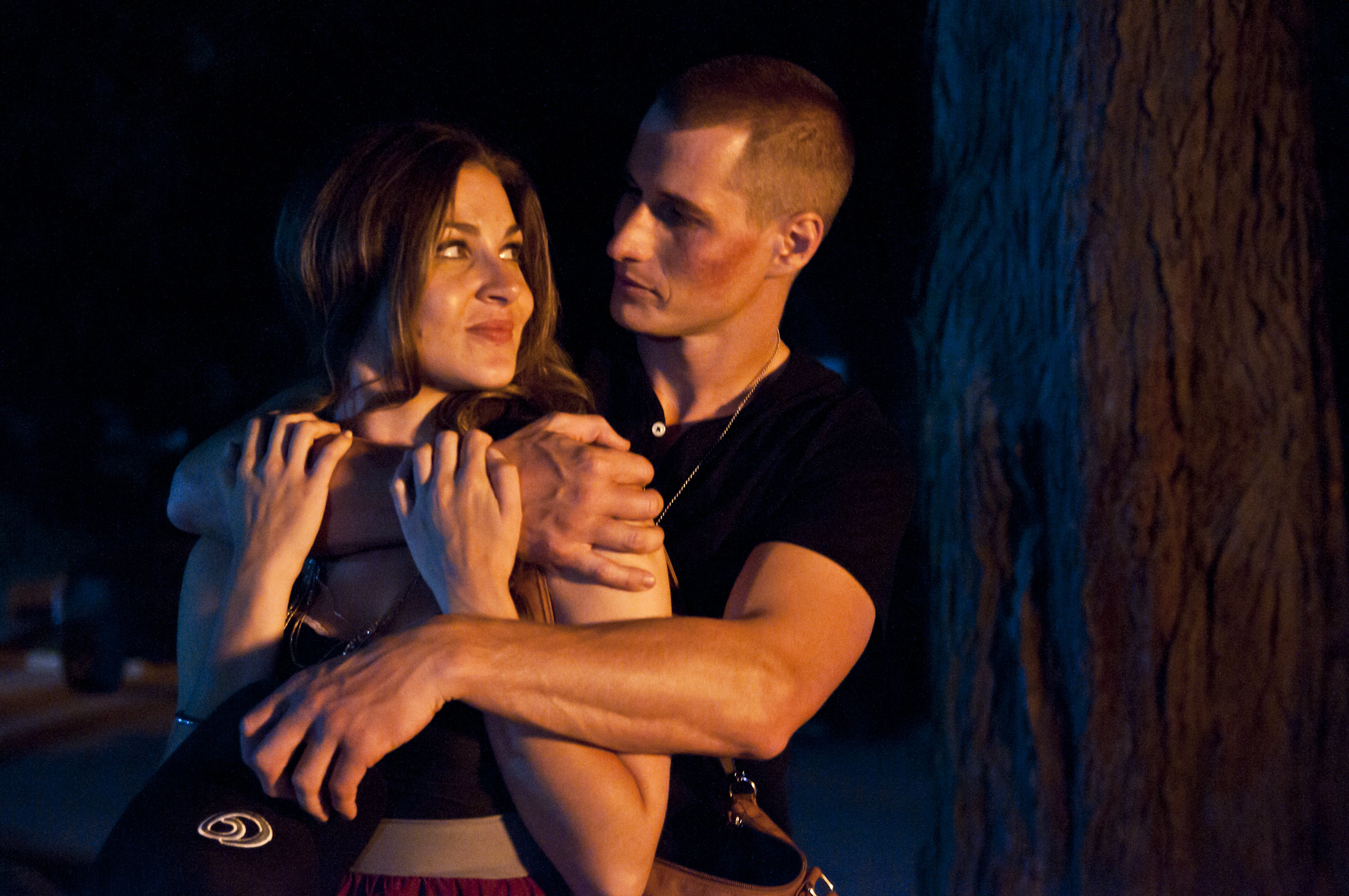 Still of Brendan Fehr and Shanda Bezic in Only I...
