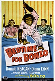 Bedtime for Bonzo Poster