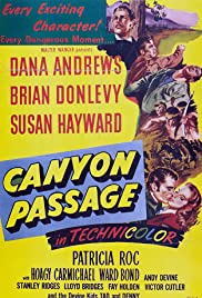 Canyon Passage Poster