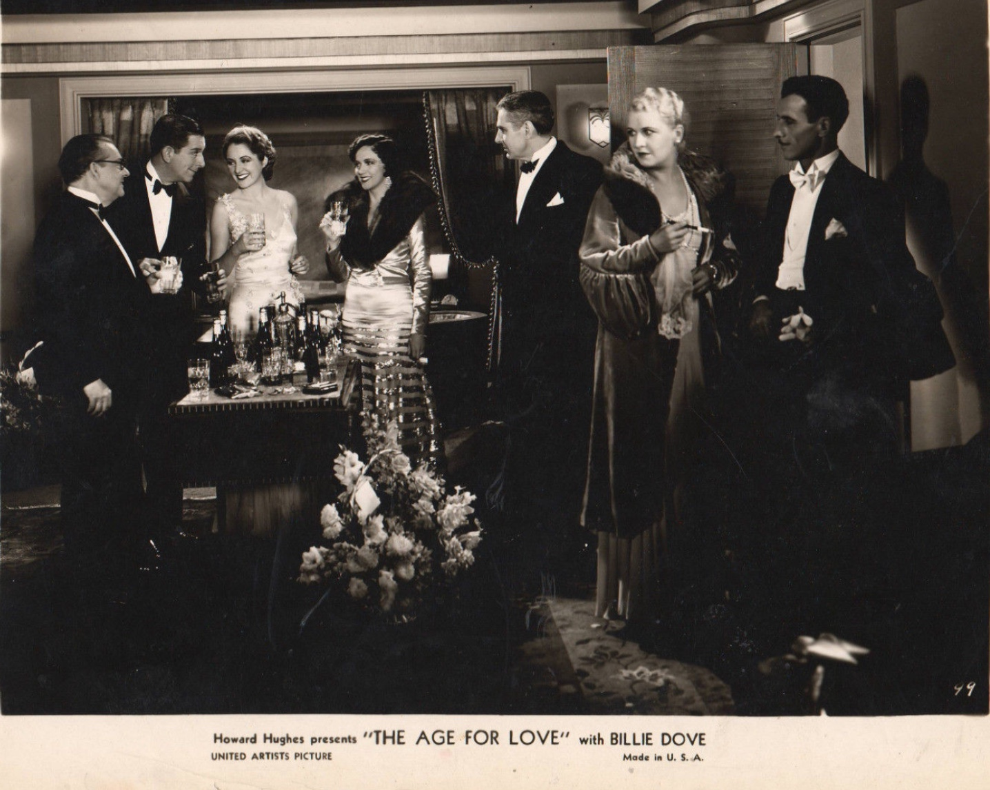 Edward Everett Horton, Billie Dove, Mary Duncan, Jed Prouty, and Lois Wilson in The Age for Love (1931)