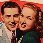 Bonita Granville and Edward Ryan in Breakfast in Hollywood (1946)