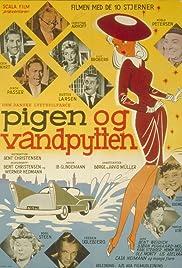 Pigen og vandpytten Poster