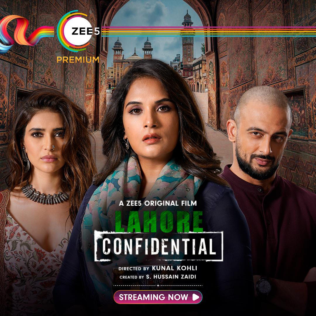 Karishma Tanna, Richa Chadha, and Arunoday Singh in Lahore Confidential (2021)