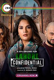 Karishma Tanna, Richa Chadha, and Arunoday Singh in Lahore Confidential (2021)