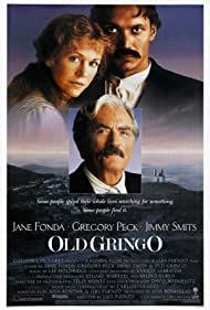 Gregory Peck, Jane Fonda, and Jimmy Smits in Old Gringo (1989)