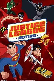 Kevin Conroy, Chris Diamantopoulos, Rachel Kimsey, Jason J. Lewis, and Dana Snyder in Justice League Action (2016)