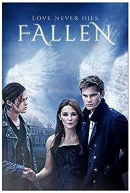 Harrison Gilbertson, Addison Timlin, and Jeremy Irvine in Fallen (2016)