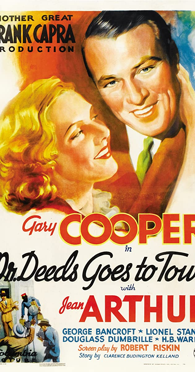 Mr Deeds Goes To Town 1936 Imdb