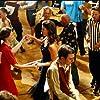 Alexis Bledel, Lauren Graham, and Sean Gunn in Gilmore Girls (2000)
