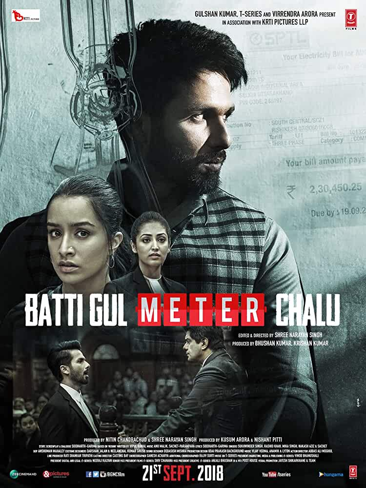 Download Batti Gul Meter Chalu (2018) Bollywood Hindi Movie NEW PreDVDRip Torrent