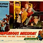William Bendix, Piper Laurie, Victor Mature, and Vincent Price in Dangerous Mission (1954)
