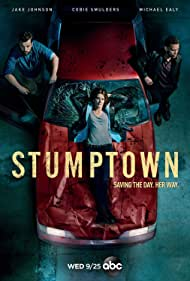 Michael Ealy, Cobie Smulders, and Jake Johnson in Stumptown (2019)