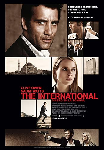The International 2009 Dual Audio In Hindi English 720p BluRay