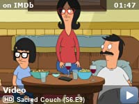 Bob S Burgers Sacred Couch Tv Episode 2016 Imdb