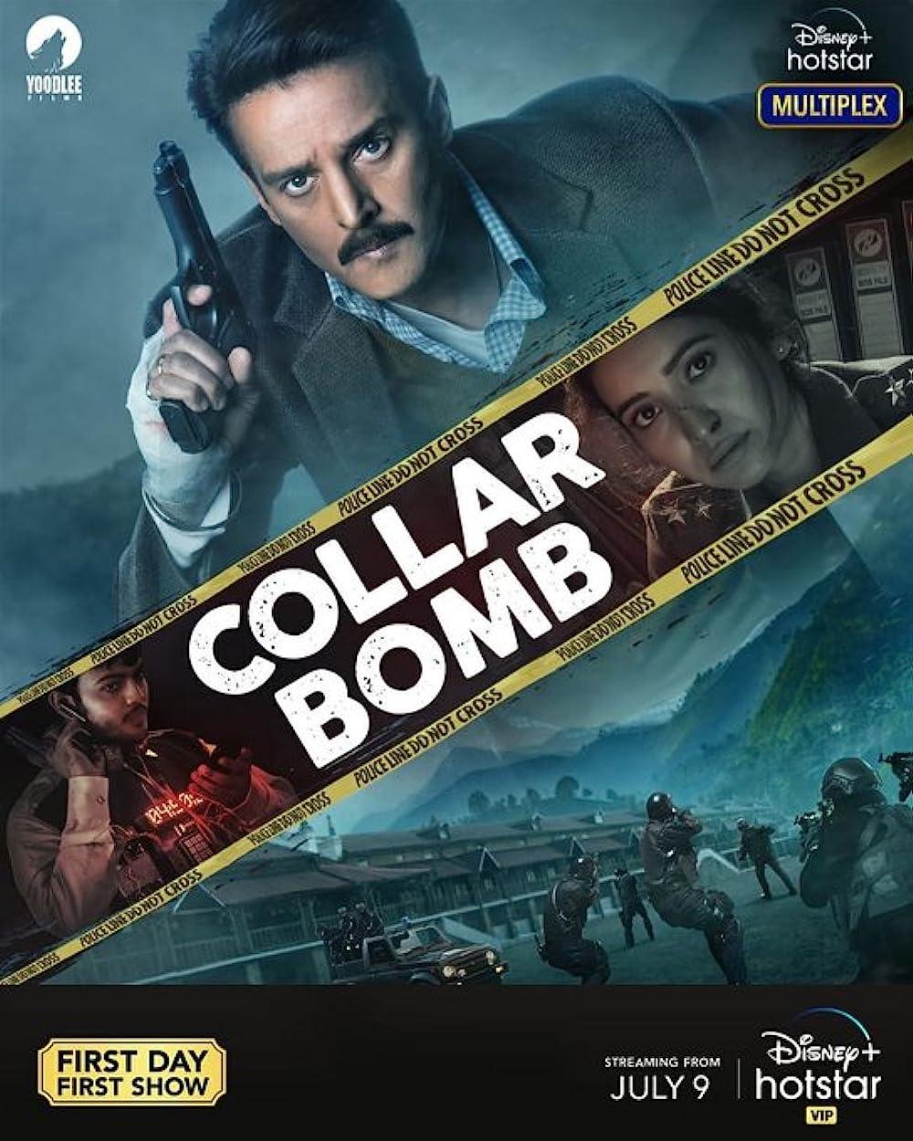 Collar Bomb 2021 Hindi Movie 720p DSNP HDRip ESub 600MB Download