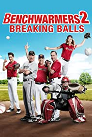 Jon Lovitz, Chris Klein, Lochlyn Munro, and Chelsey Reist in Benchwarmers 2: Breaking Balls (2019)