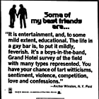 Some of My Best Friends Are... (1971)