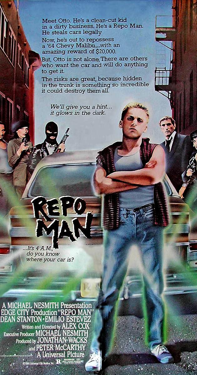 Repo Man (1984) - Taglines - IMDb