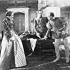 Katharine Hepburn, Fredric March, and Douglas Walton in Mary of Scotland (1936)