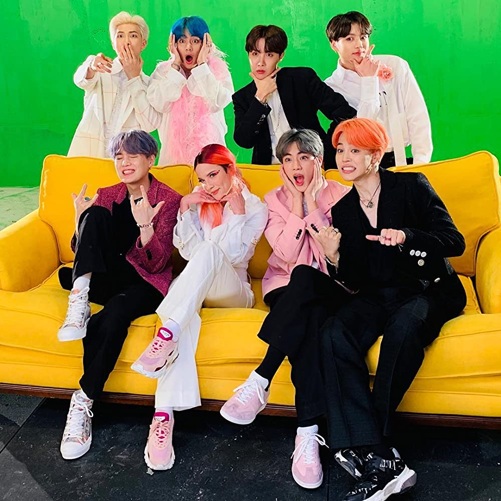 Bts Feat Halsey Boy With Luv 2019