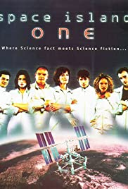 Space Island One Poster