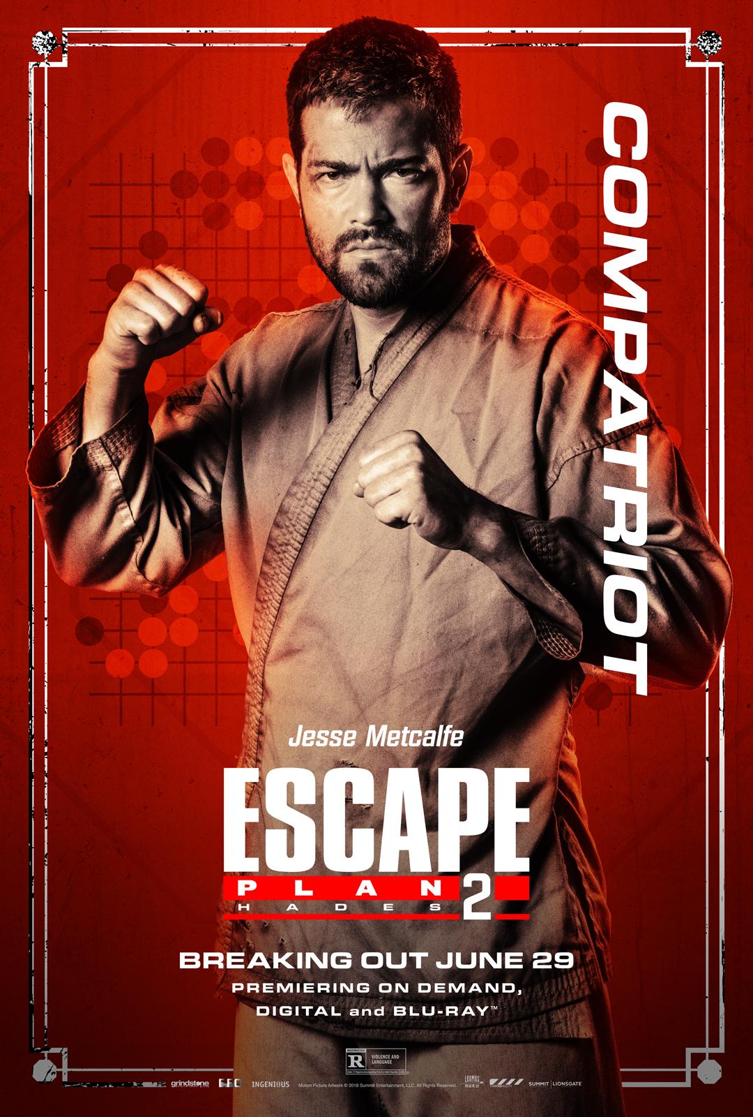 Jesse Metcalfe in Escape Plan 2: Hades (2018)