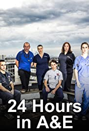 24 Hours in A&E Poster - TV Show Forum, Cast, Reviews