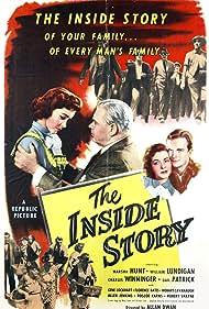 Marsha Hunt, Gene Lockhart, and William Lundigan in The Inside Story (1948)
