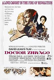 Geraldine Chaplin, Julie Christie, and Omar Sharif in Doctor Zhivago (1965)