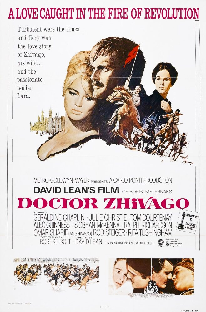 Doctor Zhivago (1965) BluRay 720p & 1080p