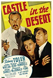 Castle in the Desert Poster