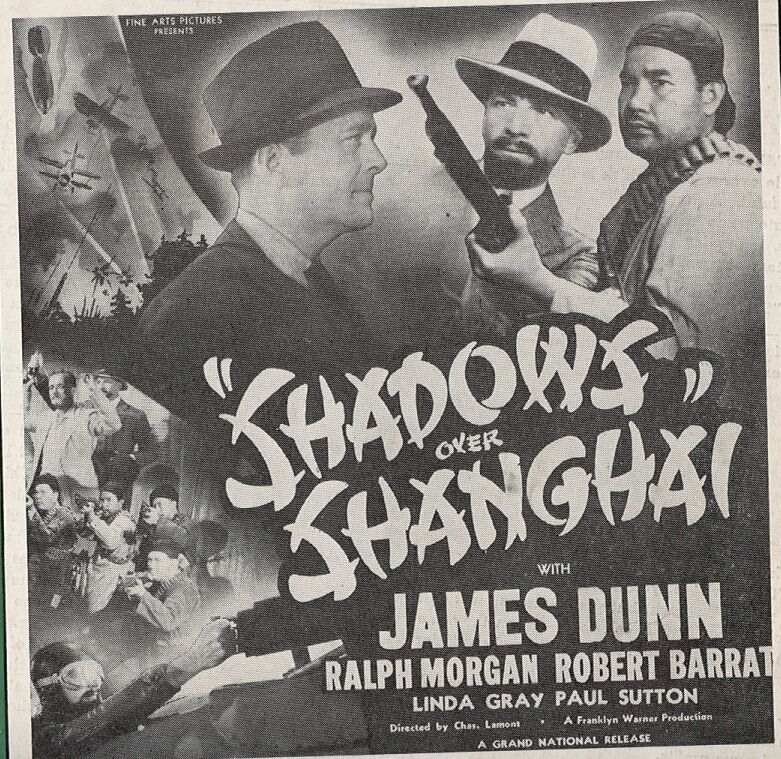 James Dunn, Robert Barrat, Lynda Grey, and Paul Sutton in Shadows Over Shanghai (1938)