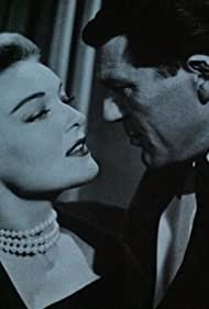 Karin Booth and Charles McGraw in Casablanca (1955)