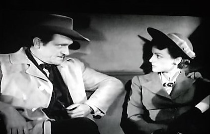 Morris Ankrum and Eleanor Stewart in Pirates on Horseback (1941)
