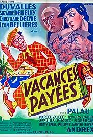 Vacances payées Poster