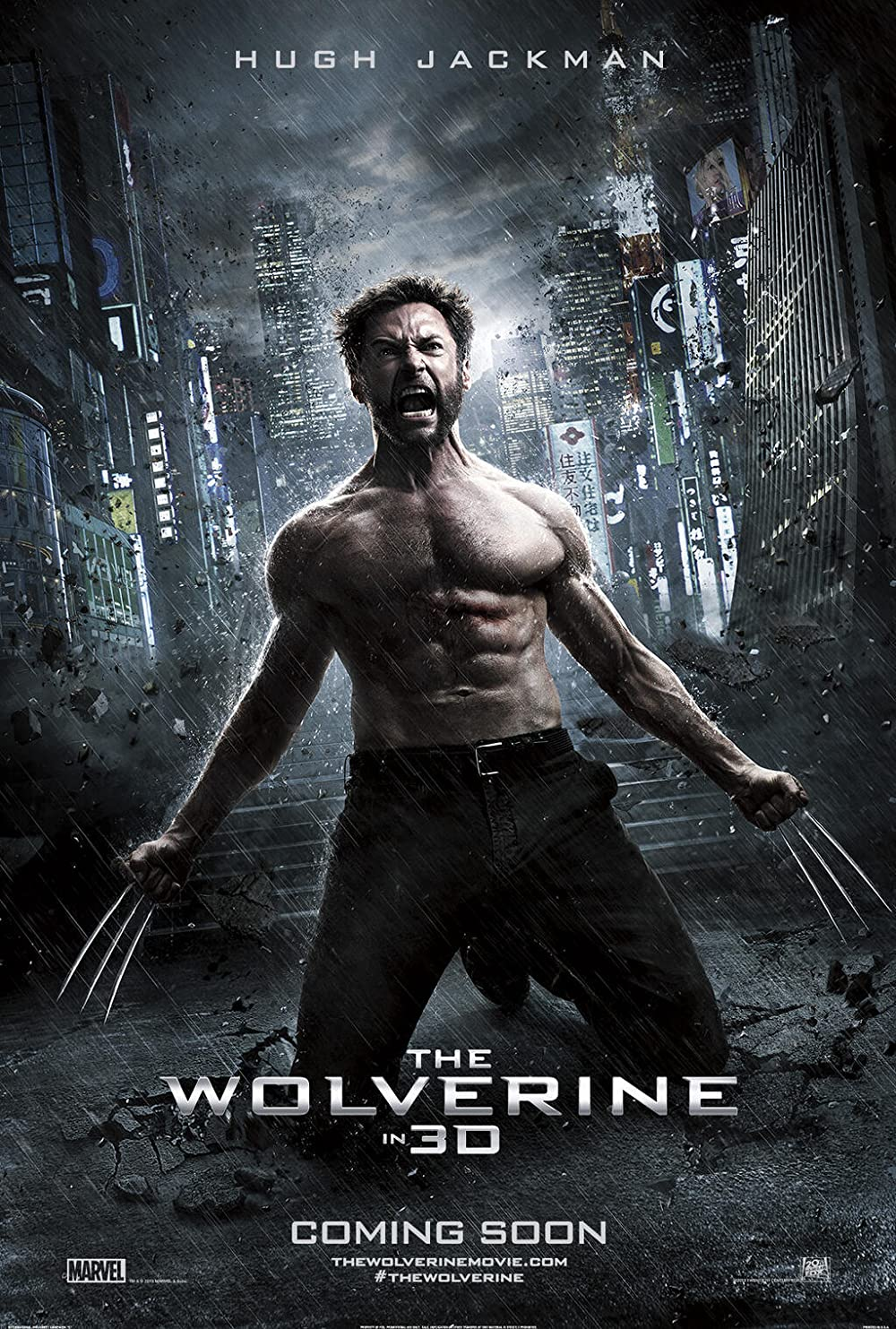 The Wolverine 2013 Dual Audio Hindi ORG 500MB BluRay 480p ESubs