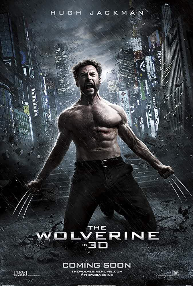 X-Men 6 : The Wolverine | 2013 | Hindi + English | 1080p | 720p | BluRay