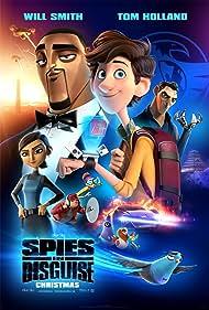 Will Smith, Rashida Jones, Ben Mendelsohn, DJ Khaled, Karen Gillan, Tom Holland, and Namewee in Spies in Disguise (2019)