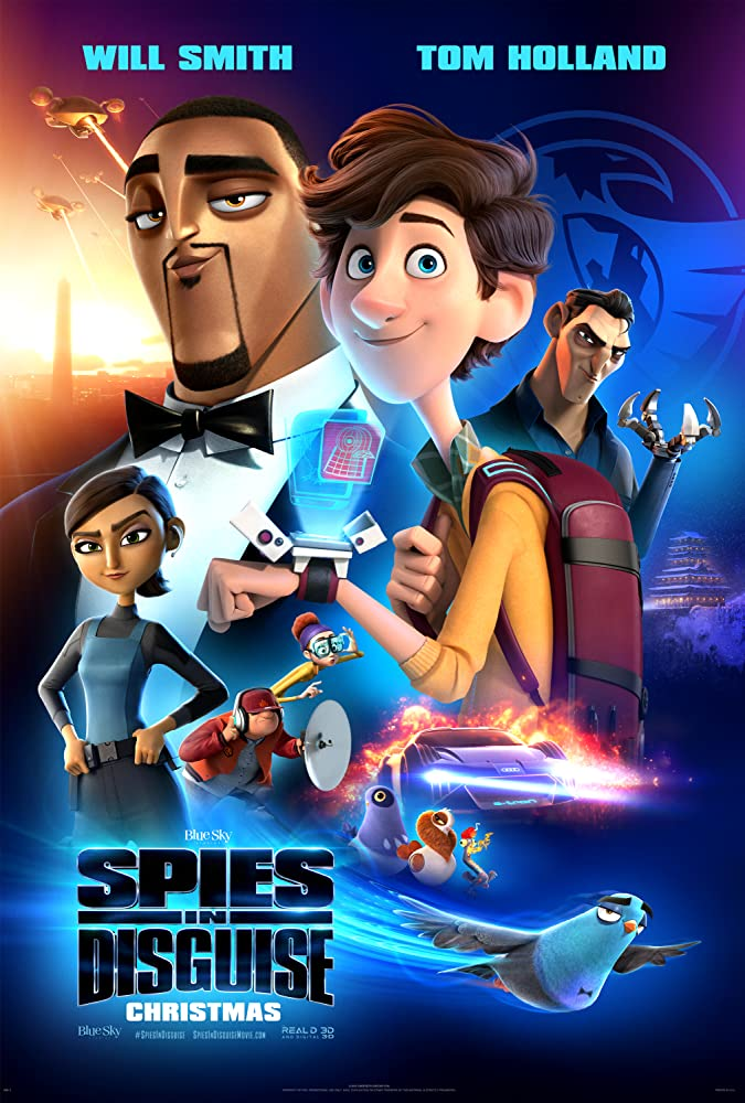Spies in Disguise Cover